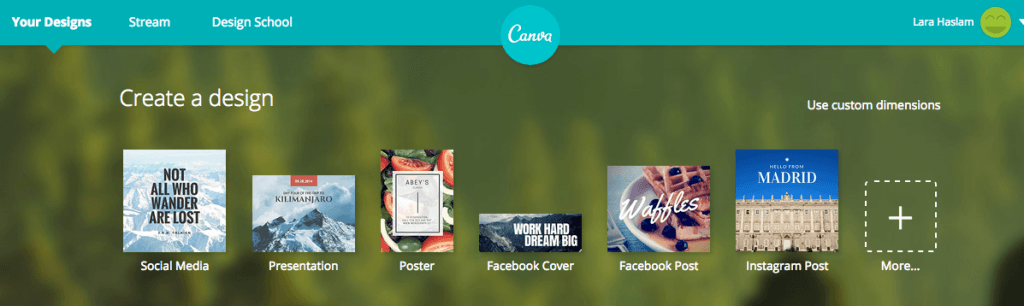 Making Social Media Design Work Easy With Canva